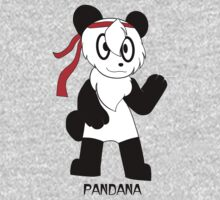 PANDANA! The panda in a bandana!  by Sharon Murphy