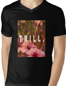 TRILL Mens V-Neck T-Shirt