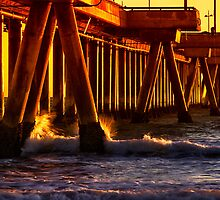 California Sunset by DDMITR
