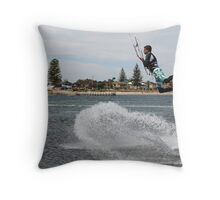 Extreme Water Sports Throw Pillow
