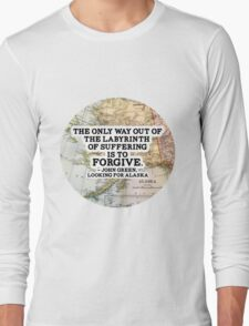 The Labyrinth of Suffering Long Sleeve T-Shirt