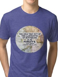 The Labyrinth of Suffering Tri-blend T-Shirt