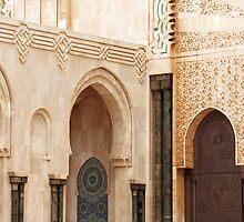 Daily life - Hassan II Mosque, Casablanca by Renae Walton