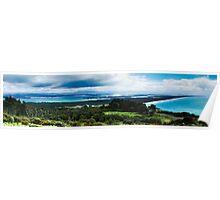 Mt Maunganui Panorama Poster