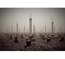 cemetery of the 21st century Photographic Print