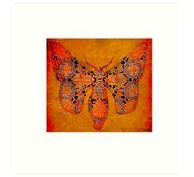 Papillon Belle epoque Art Print