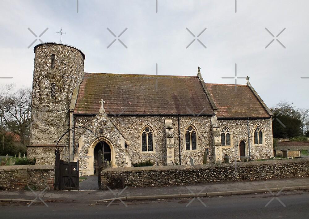 St Mary's Burnham Deepdale by Yampimon