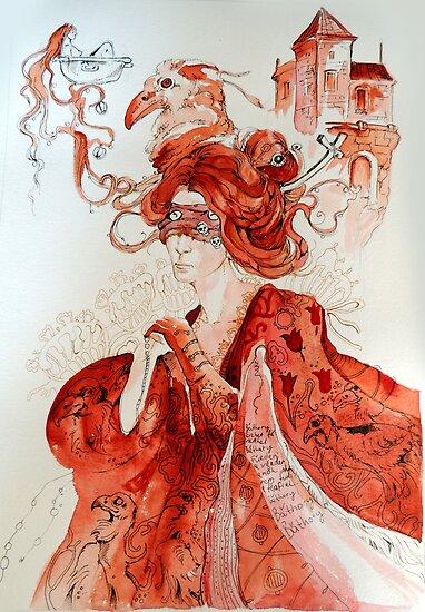 Bathory by Maryna  Rudzko
