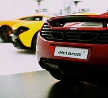 McLaren Roadcar Lineup (MP4-12C, P1) by Lynchie