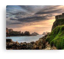 Alderney Sunset Canvas Print