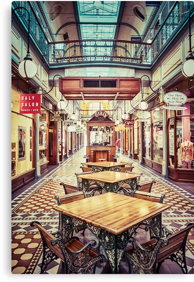 Adelaide Arcade by Ray Warren