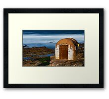 Pumphouse Framed Print