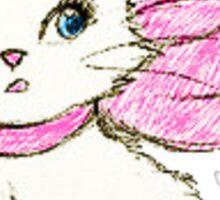 Bow Cat Sticker