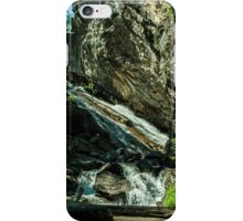 Granite Falls Of Ancient Cedars iPhone Case/Skin
