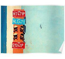 Havana number plates  Poster