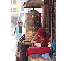 Prayer Wheel Photographic Print