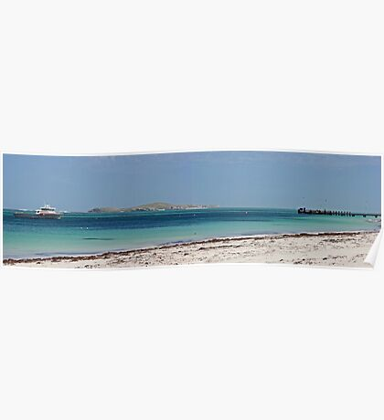 Lancelin Jetty / Wedge Island Poster
