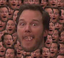 Andy Dwyer Head by Sebbybeedesign