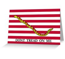 Navy Jack Greeting Card