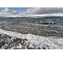 Mono Lake in Winter Photographic Print