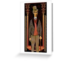 Top Hat Greeting Card