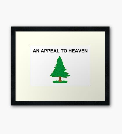 An Appeal To Heaven Framed Print