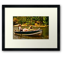 Lazy Afternoon - Central Park - NYC Framed Print