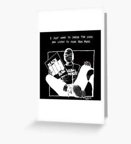 Ski-mask Bob Greeting Card