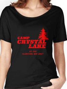 Camp Crystal Lake Women's Relaxed Fit T-Shirt