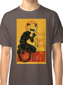 Black Cat and the Ladybug Classic T-Shirt