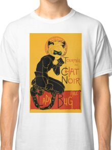 Black Cat and the Ladybug Classic T-Shirt