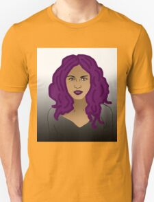 Girl with purple hair  T-Shirt