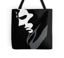 Mysterious with Cheekbones Tote Bag