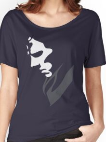Mysterious with Cheekbones Women's Relaxed Fit T-Shirt