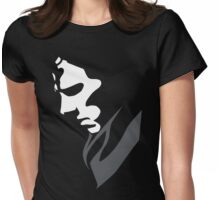 Mysterious with Cheekbones Womens Fitted T-Shirt