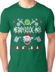 Merry Rick-Mas Unisex T-Shirt