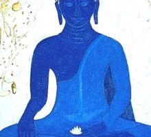 Unveiling Reality - Blue Buddha Sticker