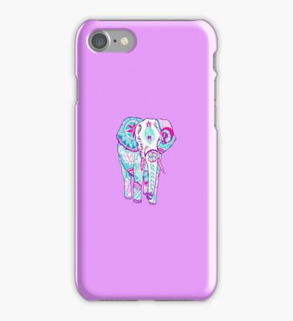 Elephant tumblr iPhone Case/Skin