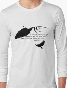 Sandman - When you fall, you fly Long Sleeve T-Shirt