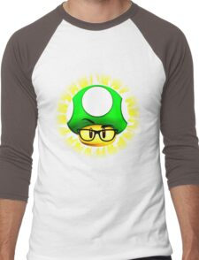 1 brainy shroom Men's Baseball ¾ T-Shirt