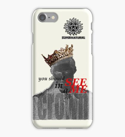 Honey, you should see Dean... iPhone Case/Skin