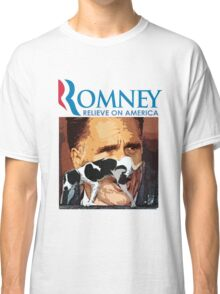 Romney - Relieve on America Classic T-Shirt
