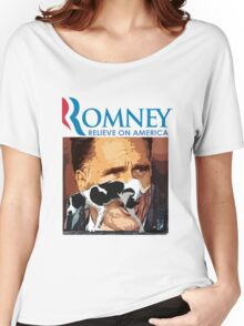 Romney - Relieve on America Women's Relaxed Fit T-Shirt