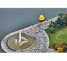 Large Rubber Ducky in Pittsburgh - 2013 Photographic Print