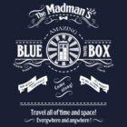 The Madmans's Blue Box by sirwatson