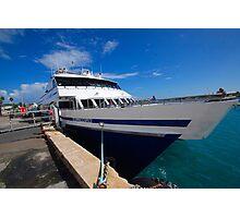 "Rhode Island Fast Ferry ""Millennium"" Photographic Print"