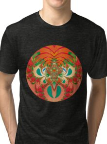 Red Owl Tri-blend T-Shirt