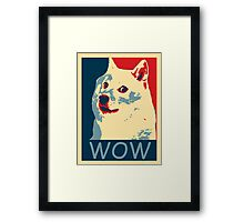 Such wow Framed Print