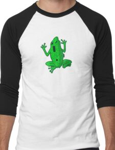 Circuit Frog Men's Baseball ¾ T-Shirt
