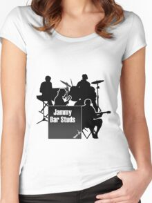 Jammy Bar Studs Women's Fitted Scoop T-Shirt